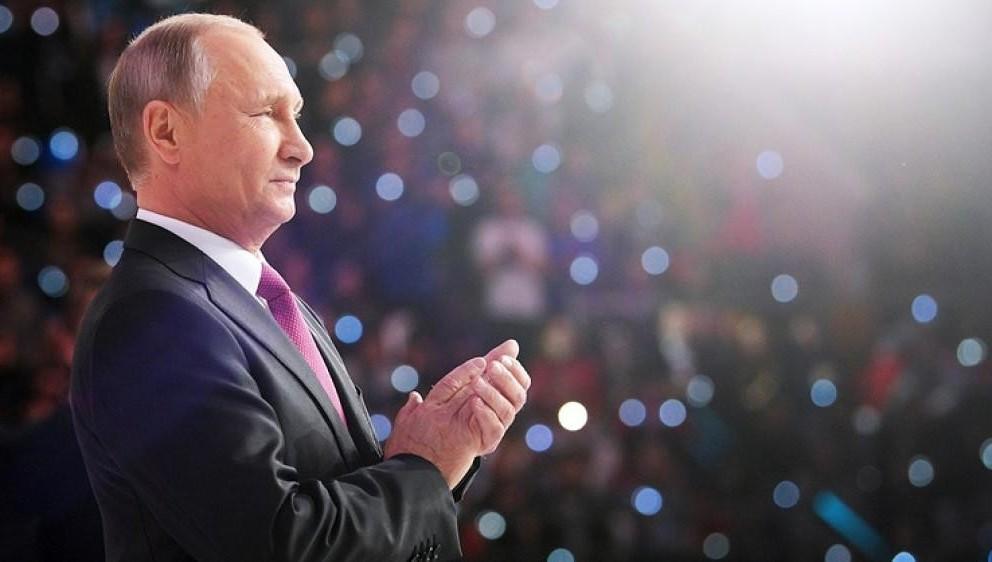 ЕРзаслужила лидерство настоящими делами— Путин