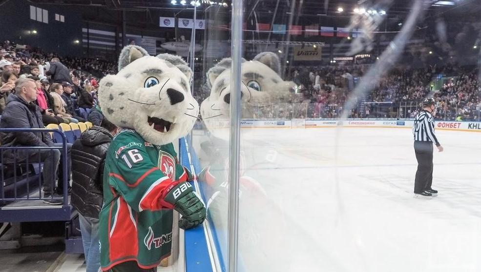 ХК «АкБарс» проиграл «Сибири» в заключительном матче года