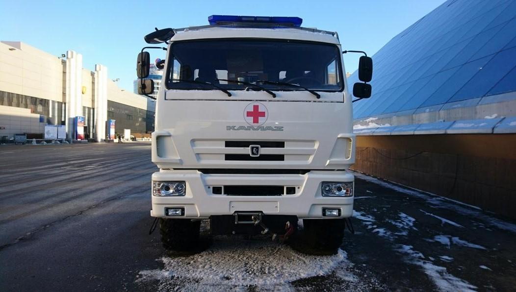 Машины скорой помощи набазе шасси «КАМАЗ» поставят врегионы