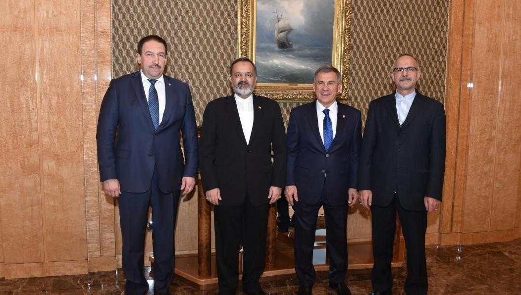 Сегодня Рустам Минниханов отправится навстречу сВладимиром Путиным