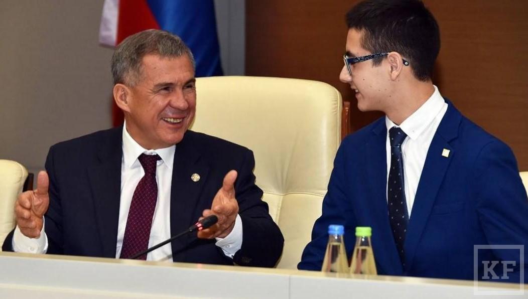 Школьник изКазани побудет вроли президента Татарстана