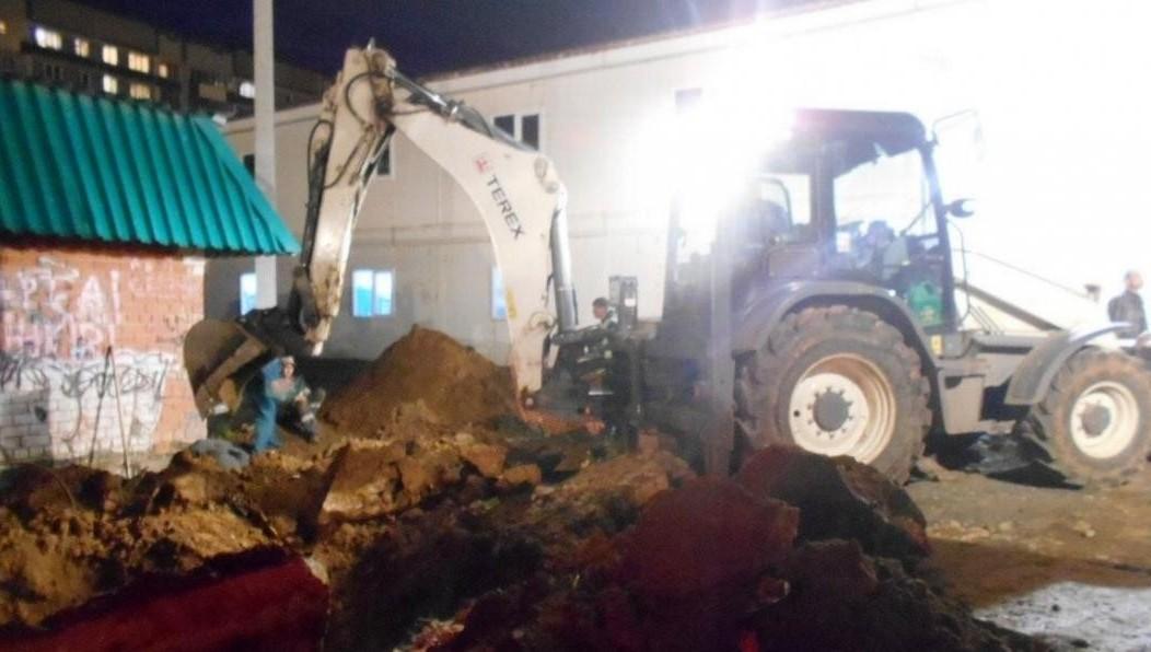 ВТатарстане рабочего насмерть засыпало землей вкотловане