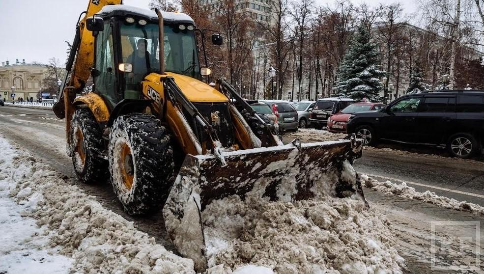 000 тонн снега вывезли изКазани засутки