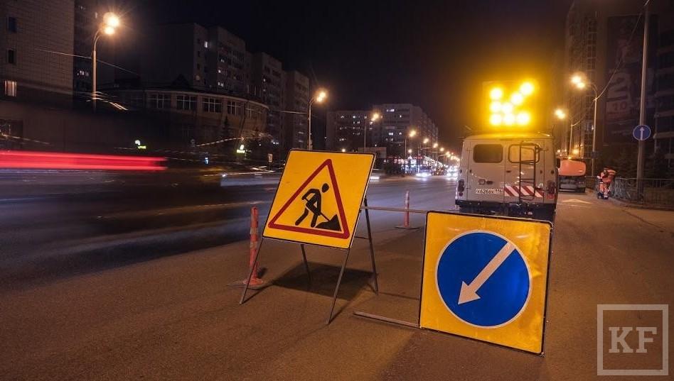 ВКазани с12января закрывается для транспорта проспект Камалеева