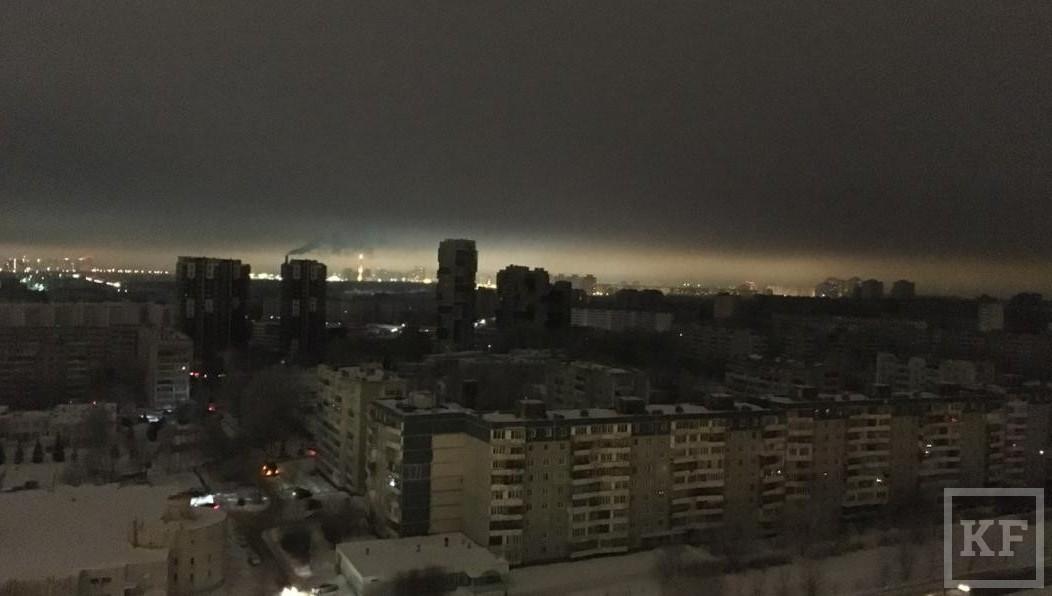 ВКазани из-за дорожной аварии остались без света 97 тыс. человек