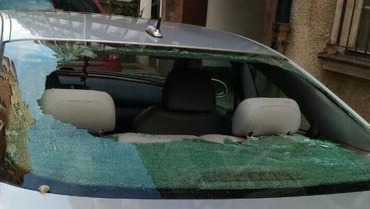 ВПольше забросали камнями автомобиль сроссийскими номерами