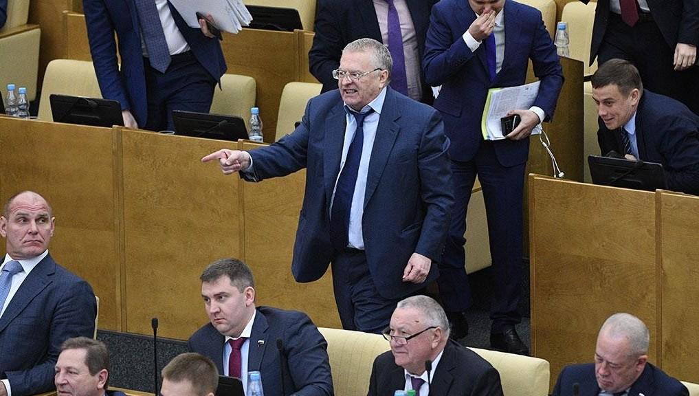 Работа фракции ЛДПР в государственной думе заблокирована— Жириновский