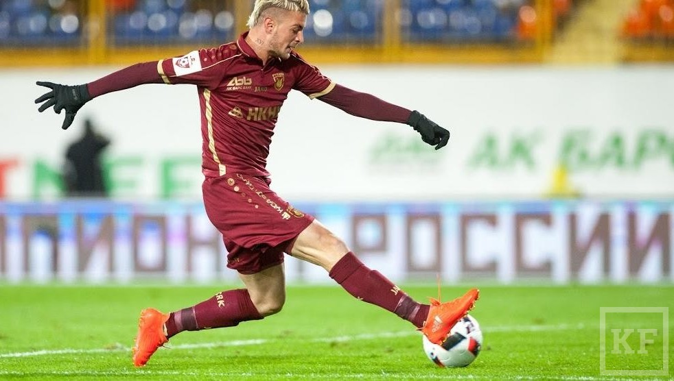 Игрок «Рубина» Максим Лестьенн перешел в«Малагу»