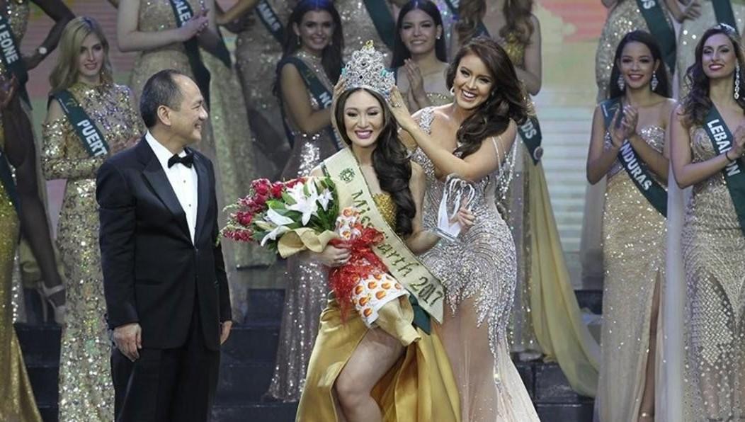 Елены Латыпова изТюмени заняла второе место наконкурсе «Мисс Земля— 2017»