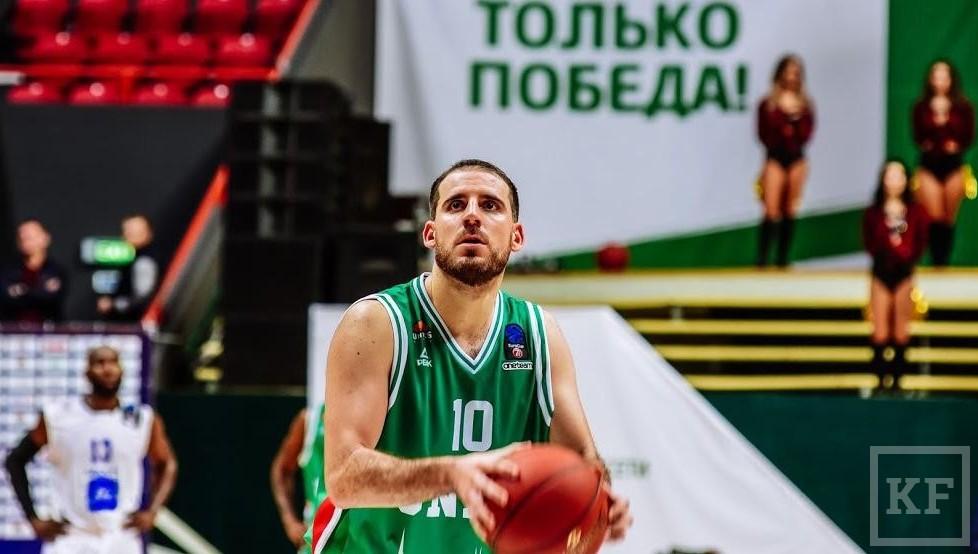 УНИКС обыграл итальянский «Торино» вматче баскетбольного Еврокубка