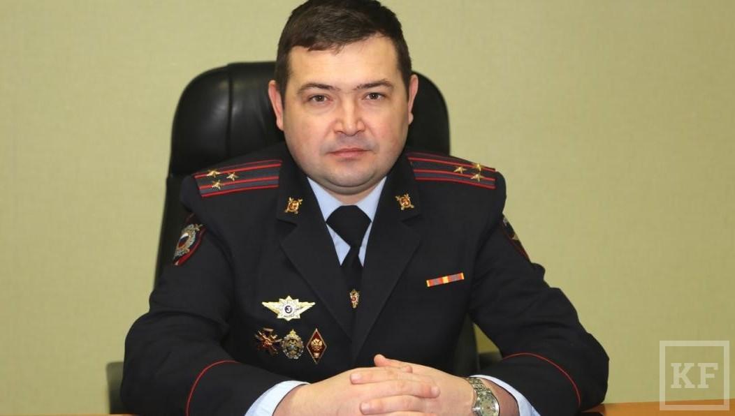 Глава  УМВД поНижнекамскому району освобожден отдолжности