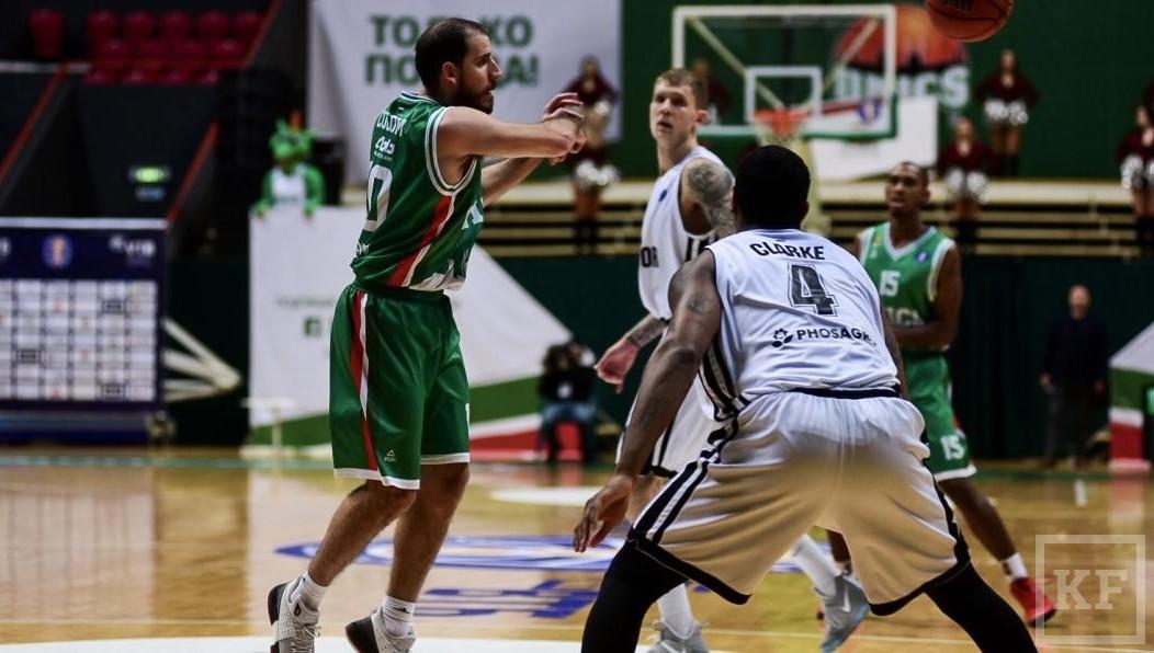 УНИКС обыграл «Автодор» вдомашнем матче Единой лиги ВТБ побаскетболу