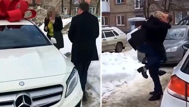 Милиция  Уфы проверит подарок начальника отдела финансовой  безопасности собственной  девушке