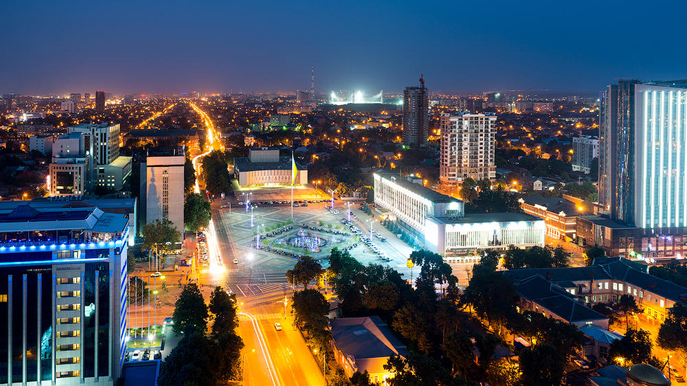 Краснодар центр города картинки потроллить