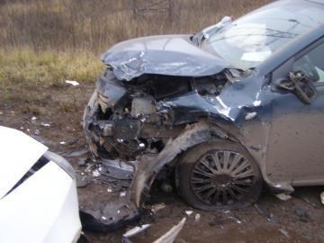 В Нижнекамске столкнулись два автомобиля