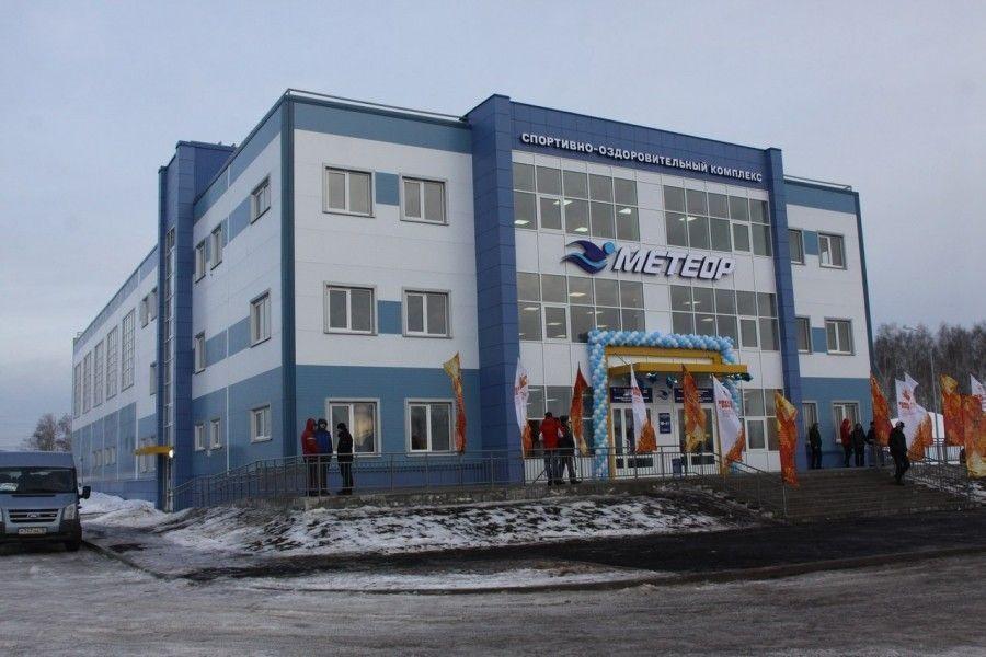 В Зеленодольске открылся бассейн «Метеор»
