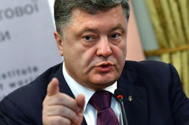 Порошенко пообещал иски в международные суды из-за Крыма
