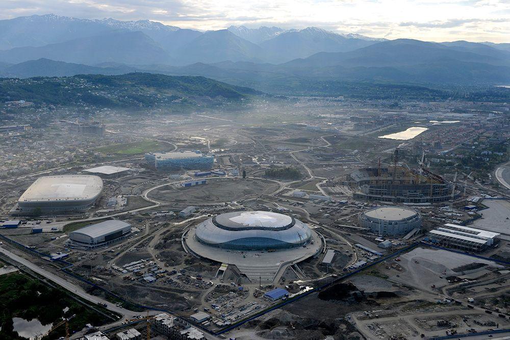 Половина госкредитов выданных на сочинскую Олимпиаду оказались невозвратными