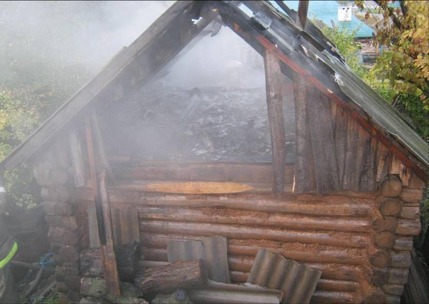 Под Набережными Челнами произошел пожар