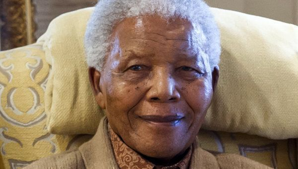 Сегодня прошла церемония погребения Нельсона Манделы