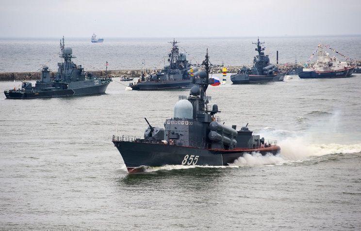 Военные учения войск РФ начались в Калининградской области