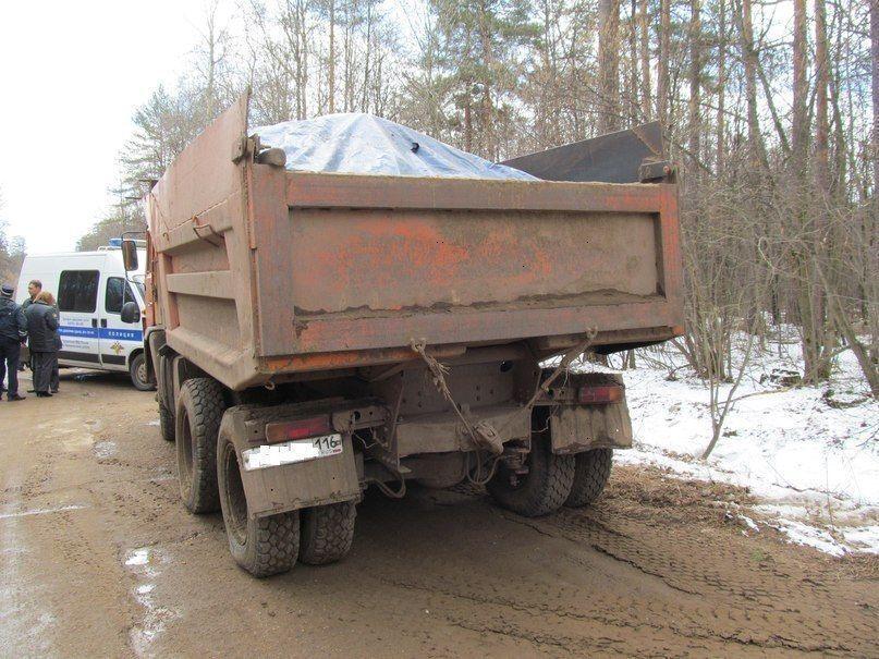 В Нижнекамске задержан предприниматель, укравший 13 тонн песка