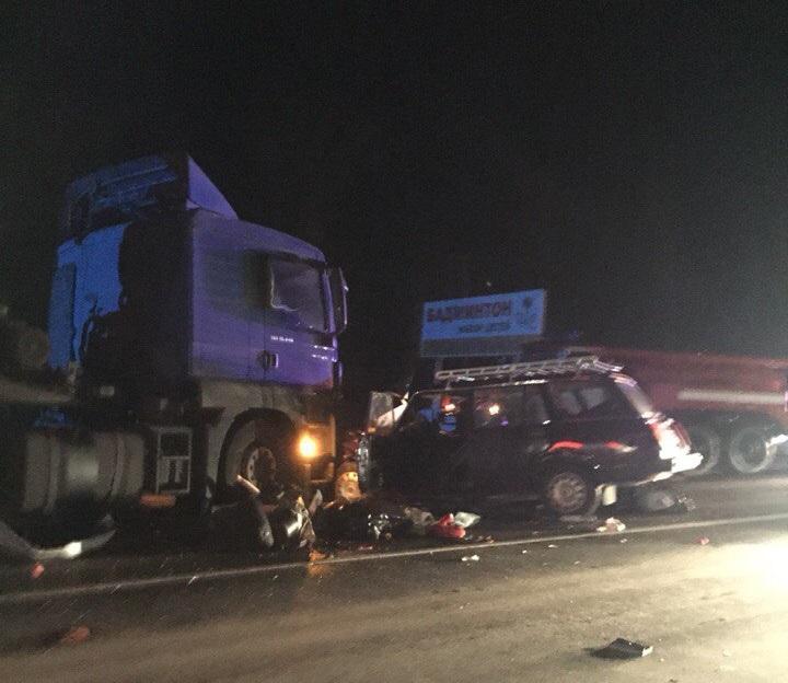 Крупное ДТП недалеко от Казани: столкнулись пять машин, есть погибшие