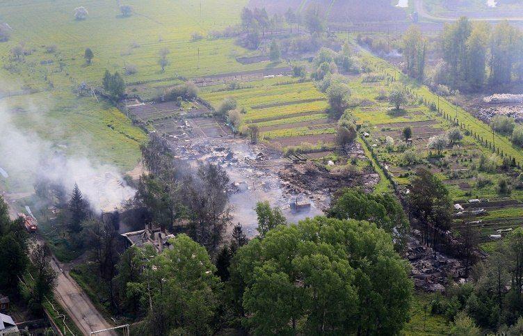 Из поселка рядом с горящим складом Минобороны в Забайкалье эвакуированы более тысячи человек