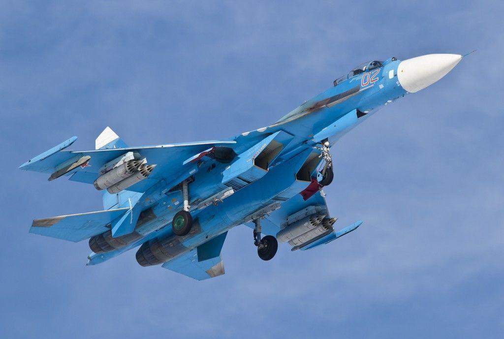 Минобороны Украины сообщает о нарушении российскими истребителями воздушного пространства