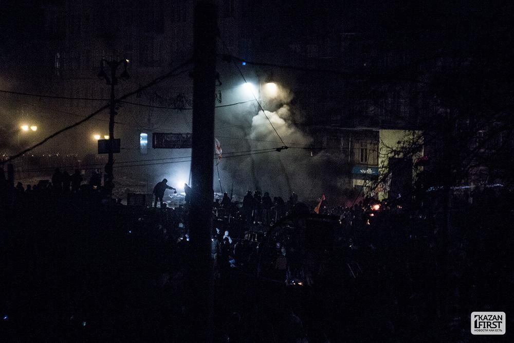 На Украине под ногами корреспондента РЕН ТВ взорвалась граната