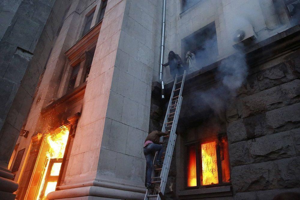 Верховная рада: объективное заключение о причинах гибели 48 человек в Одессе 2 мая получить невозможно