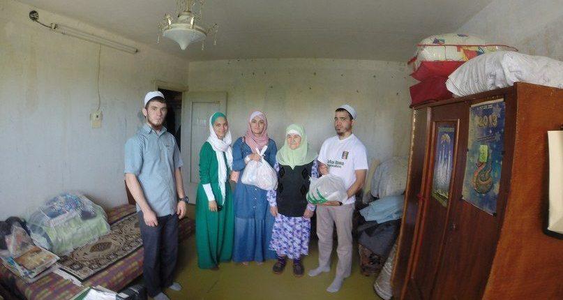 Тысячу продуктовых наборов подарили жителям Нижнекамска во время акции «Рамадан – месяц добрых дел»