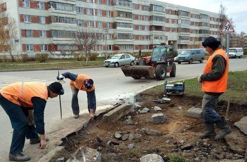 Набережным Челнам выделено почти 10 млн рублей на установку бортовых камней и пандусов