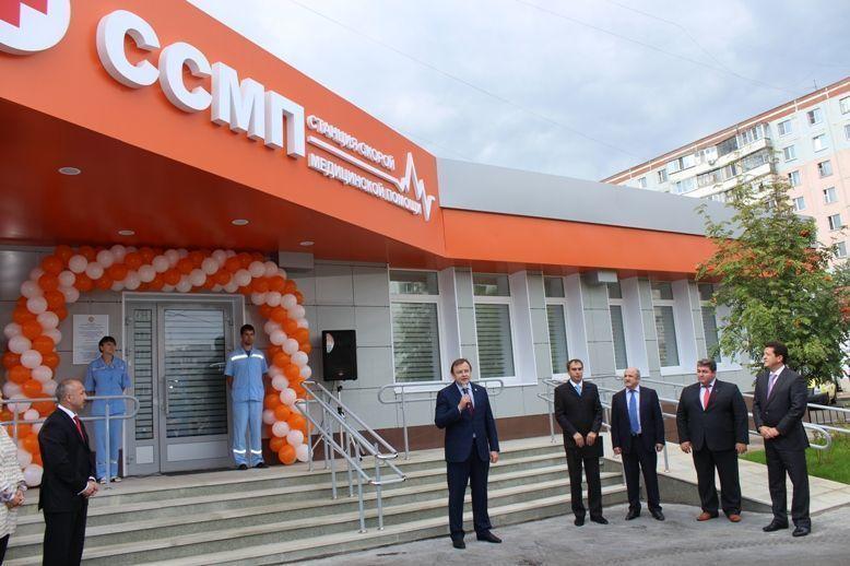 Новая подстанция скорой помощи открылась в Казани