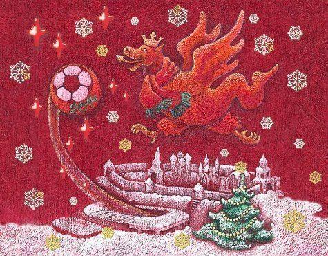 В Новый год Татарстанская художница посвятила ФК «Рубин» одну из своих работ