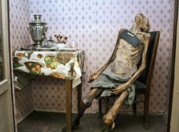 В одной из московских квартир обнаружили мумию мужчины