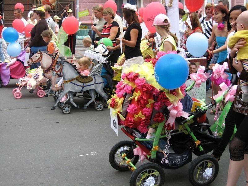 «Парад колясок» пройдет в Казани