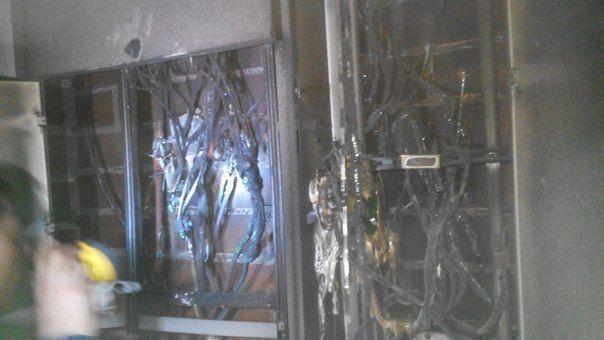 В Альметьевске загорелись три квартиры в новостройке