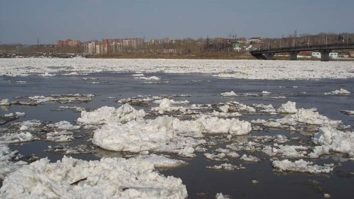 Ледоход на реках в Набережных Челнах ожидается 10 апреля