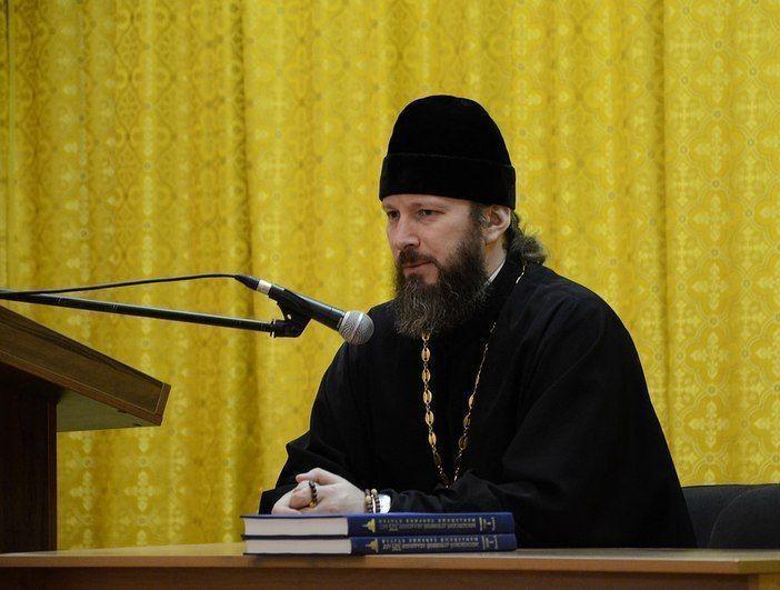 Митрополит Анастасий представил нового ректора преподавателям и студентам Казанской семинарии