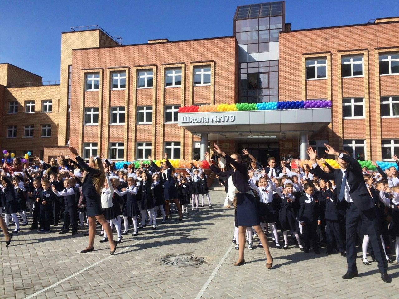 Минниханов в «Вконтакте»: открытие школы №179 в Казани