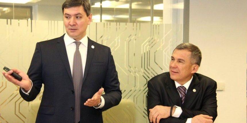 Сурков посетил казанский IT-парк
