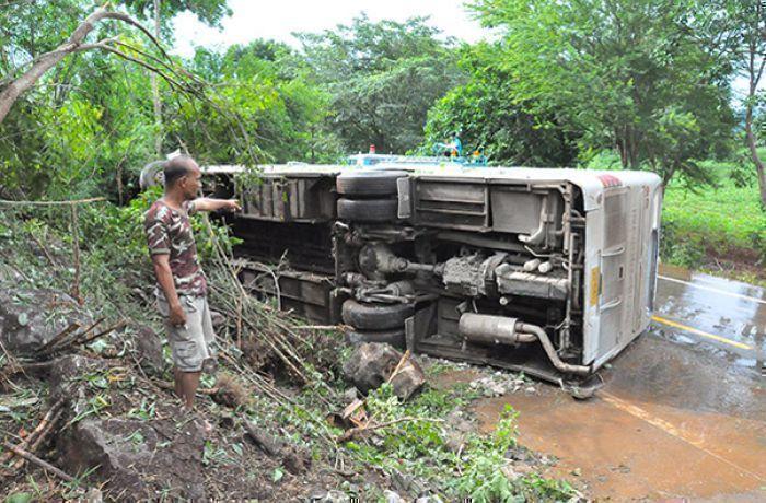 В Тайланде в результате аварии автобуса пострадало около 30 россиян