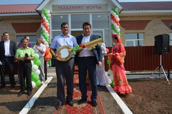 В деревне Мяндеево Азнакаевского района открылся дом культуры