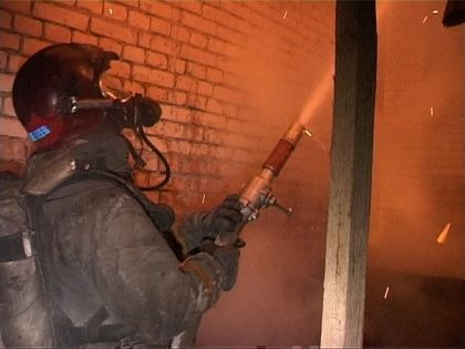 Под Набережными Челнами сгорел частный дом на две семьи