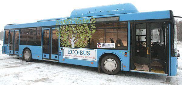 В Зеленодольске автобусы переведут на газомоторное топливо