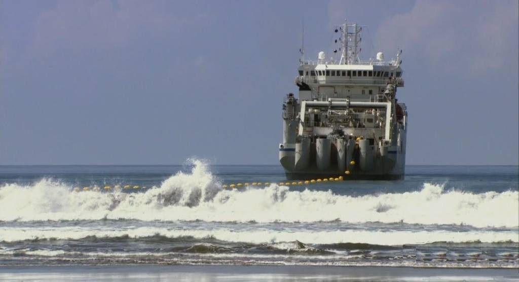 Прокладка оптоволоконного кабеля по дну Тихого океана будет стоить Google $300 млн
