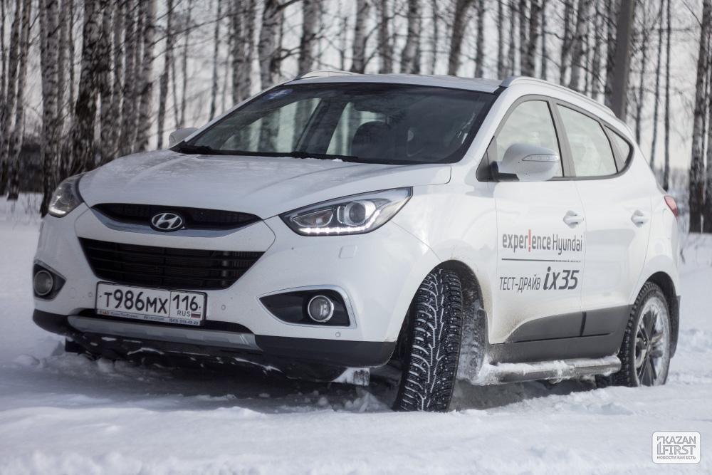 Тест-драйв автомобиля «Hyundai ix35»