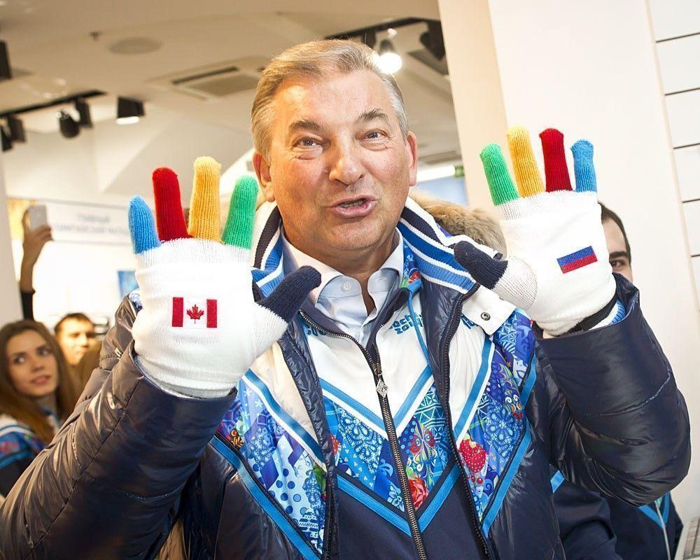 На Олимпиаде в Сочи символом болельщиков стали митенки