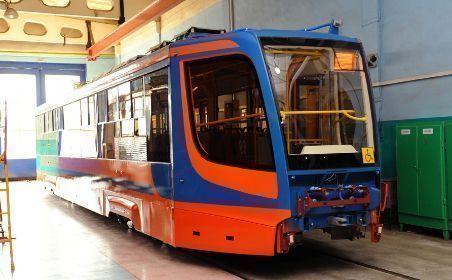Десять новых трамваев вышли в рейс в Казани